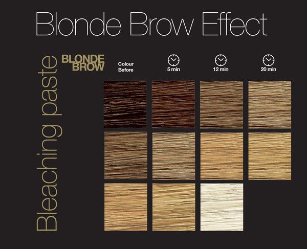 Blonde Brow Guide